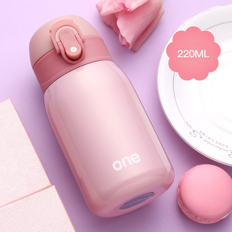 Baby Thermos Feeding Bottle Child 304 Stainless Steel Vacuum Flask Water Cup Cute Mini Toddler Drink Kid Insulation Cup BB5107 (7)