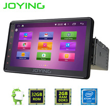 Joying 1DIN Android 6.0 Car Autoradio 2GB RAM Head Unit 7'' touch screen steering-wheel Stereo GPS Bluetooth FM AM system player(China)