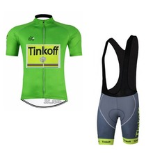 2016 team tinkoff tour de france cycling jersey summer Bicycle maillot breathable MTB Short sleeve bike cloth Ropa Ciclismo(China)