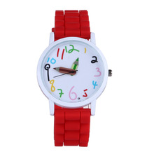 2017 Special Offer Limited Fashion Cartoon Student Watch Pencil Pointer Funny Digital Silicone Watches Best Gift Women Men Watch(China)