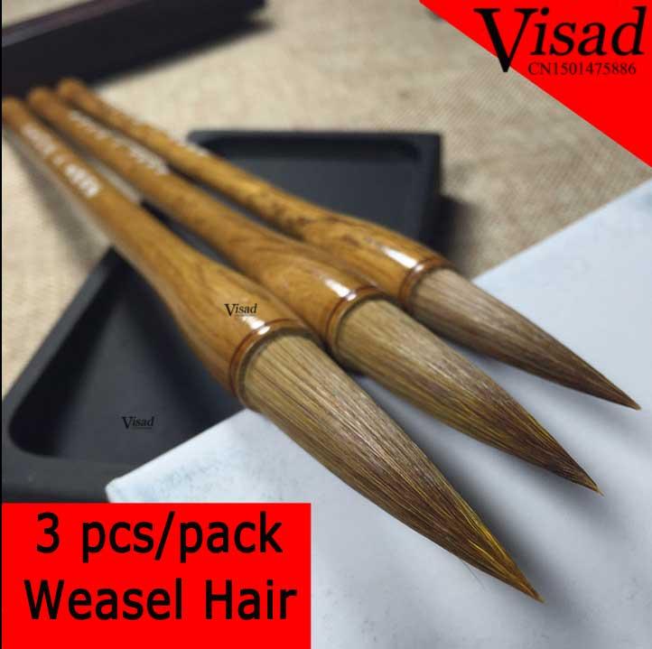 Senior Chinese calligraphy brush weasel hair script pentel brush pen for artist painting caligraphy<br>