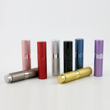 200 x Top Quality 8ML  Mini Travel Portable Replaceable Empty Atomizer Perfume Bottle Aluminum Spray Parfume Containers