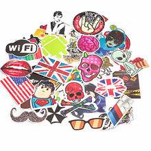 100 pcs DIY Kawaii Car Stickers on Motorcycle Suitcase Home Decor Phone Laptop Covers Vinyl Decal Sticker Bomb JDM Car styling