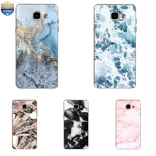 For Samsung Galaxy A5 (2015) Phone Case For A5 2016 Shell For A5 2017 Cover For A500 A510 A520 Soft TPU Marble Lines Design