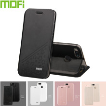 Mofi For XiaoMi MiA1 (5.5 inch) Case Cover Flip PU Leather Stand Case for Global Version Xiaomi Mi A1 Book Style Cell Phone Bag(China)