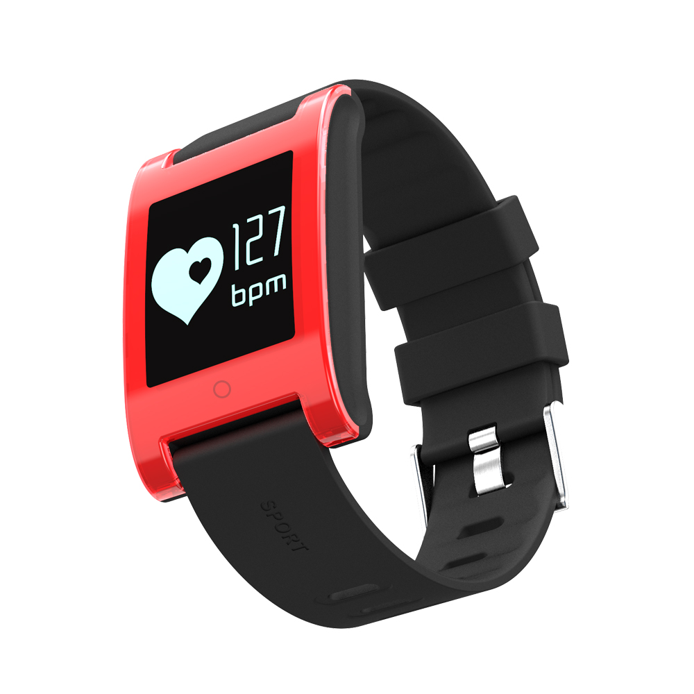 LEMDIOE DM68 waterproof smart band wristband fitness tracker Blood Pressure heart rate monitor Calls Messages watch for phone 20