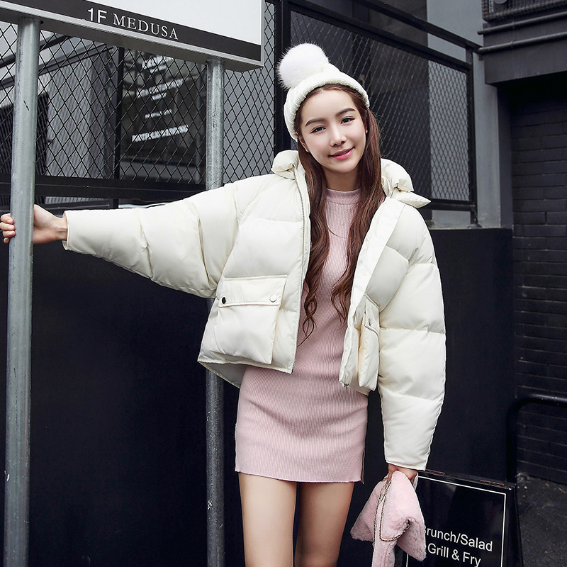 2017 New Winter The European South Korea Slim Short Bread Thickened Down Jacket Cotton Female Tide Free ShippingОдежда и ак�е��уары<br><br><br>Aliexpress