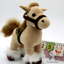 Cute Pony Doll  Children'S Toy  Home Decoration  Plush Horse Simulation Animals Toys