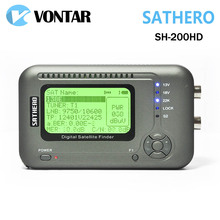 [Genuine] Sathero SH-200HD DVB-S2 Digital Satellite Finder Meter Sat Finder 200HD High Definition USB 2.0 Spectrum analyzer