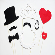 8pcs Photo Booth Props Party Wedding Decorations CatGlass Supplies Mask Mustache for Fun Favor photobooth brithday party favors