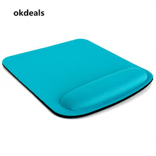 HOT Thicken Square Comfy Wrist Mouse Pad For Optical/Trackball Mat Mice Pad Computer(China)