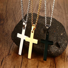 2017 The Newest Trendy Ross Pendant Necklace Jewelry Statement Stainless Steel Link Chain Necklace Popular Style