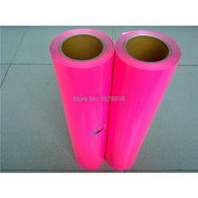 CDU-30 Neon pink color PU cutting plotterr flex vinyl heat transfer film for t-shirt , 0.5m*5m(China)