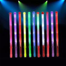 Colorful Luminous Stick build with Battery safe Led Bracelet Sticks toys Cheer and Screaming on Concert Paty decoration toy 20pc