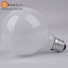 Fashional Incandescent Bulbs 40W 220V 80*115(mm),E27 Light Bulbs For Pendant Lamp Table Light Wall Lamp,Round Shade Bulb