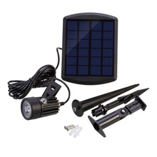 BSV-SL101 Universal LED Solar Powered Outdoor Street Light Low Power Consumption Garden Lawn Lamp Landscape Spot Light