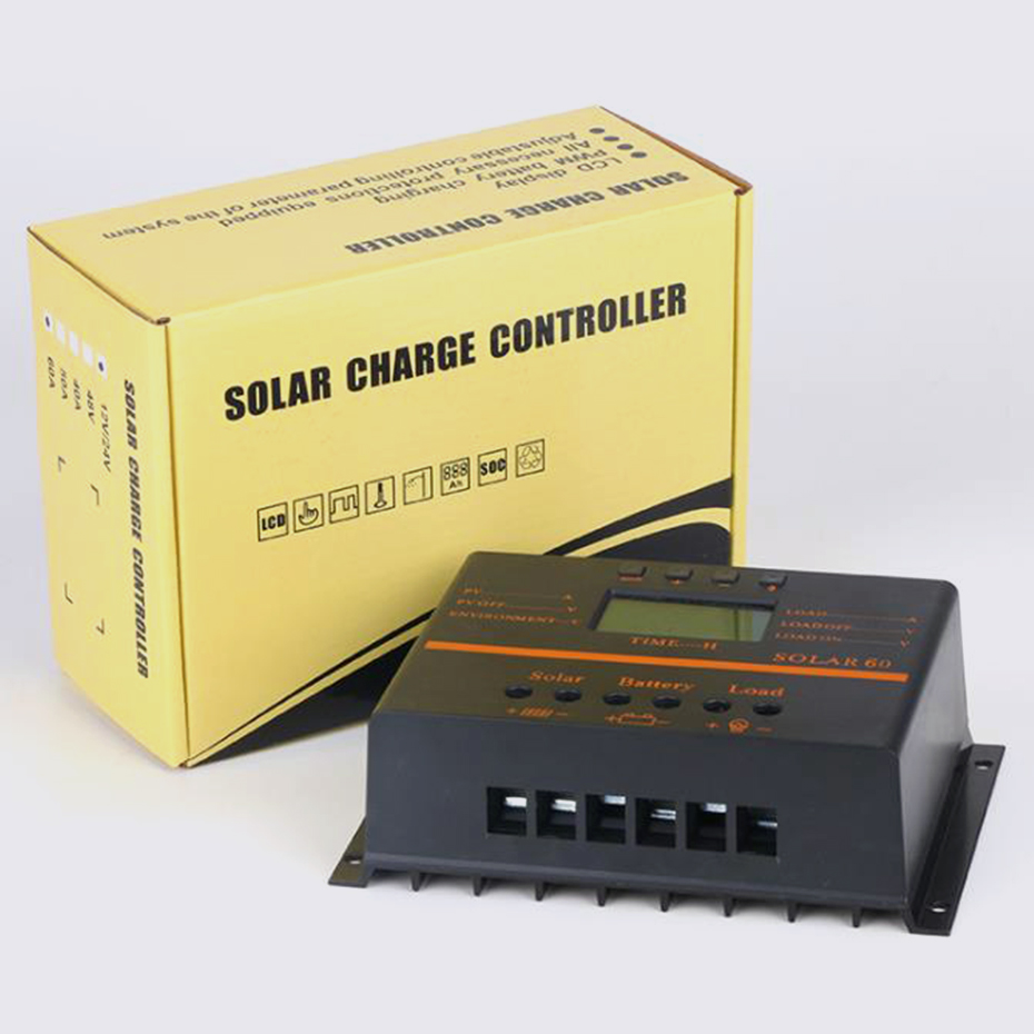 EASUN POWER 80A Solar Controller 12V24V PV panel Battery Charge Controller Solar system Home indoor use 5V USB charger for phone5