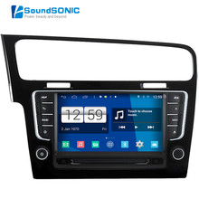 For Volkswagen Golf 7 MK7 VII 2013 2014 2015 Android 4.4.4 S160 Automotivo Car PC Auto Monitor Car Radio CD DVD GPS Autoradio