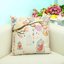 Brand New and high quality Cotton and linen Fashion Classical Sofa Seat Cushion Decorative Throw Case Hot Sierkussen