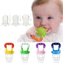 Food Supplement Feeder Mills Push Chew Fruit Vegetables Bite Happy Processor Food grinder Food Mills for mom's baby,SIZE L