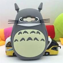 New style 3D Cartoon Totoro cat soft silicon cute cover back phone case For Samsung Galaxy a3/a5 2015 Lovely Shell Cases Capa