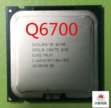 Intel Core 2 Quad Q6700 q6700 CPU Processor (2.66Ghz/ 8M /1066GHz) Socket 775(China)