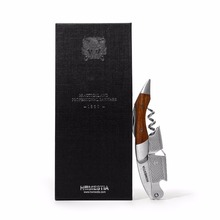 HOMESTIA Rosewood Corkscrew Wine Opener Bottle Opener High Quality Beer Opener and Foil Cutter w/Leather Case and Gift package(China)