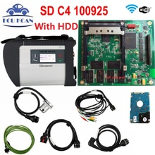 Diagnostic Tool MB Star SD C4 Full Chip Multi-Languages For CAR&TRUCK Powerful Function MB SD Connect Compact 4 MB Star C4(China)