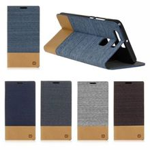 For Huawei P9 Lite Honor 4A 8 Case Denim jeans canvas Card Wallet Leather Flip Case For Huawei Honor 5C 5X Cover