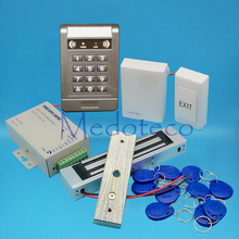 Buy DIY Full 125khz Rfid Card Door Access Control System Kit EM Card Access Controller +180KG 350lbs Magnetic Lock + Door bell for $34.90 in AliExpress store