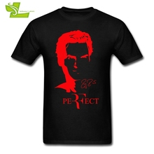 RF Roger Federer Adult T Shirt Fashion Custom Made T-Shirt Men Short Sleeve Round Neck Tee Teenboys Latest Personality Clothing(China)