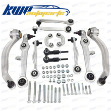 13 PIECE CONTROL ARMS BALL JOINTS TIE RODS SUSPENSION KIT FOR AUDI A4 A6 PASSAT #8E0407694AG 8E0407694Q 8E0419811B(China)