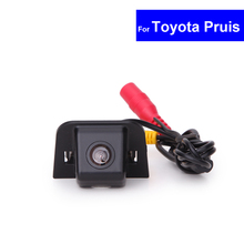 CCD Car Reverse Camera for Toyota Prius 2012 Auto Rear View Backup Review Reversing Parking Kit with Night Vision Free Shipping
