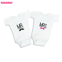 Buy Culbutomind Twins best friends mr mrs Body Suit funny gift idea twin babies gift set Twins Baby Clothing Twin MatchingSet for $11.00 in AliExpress store