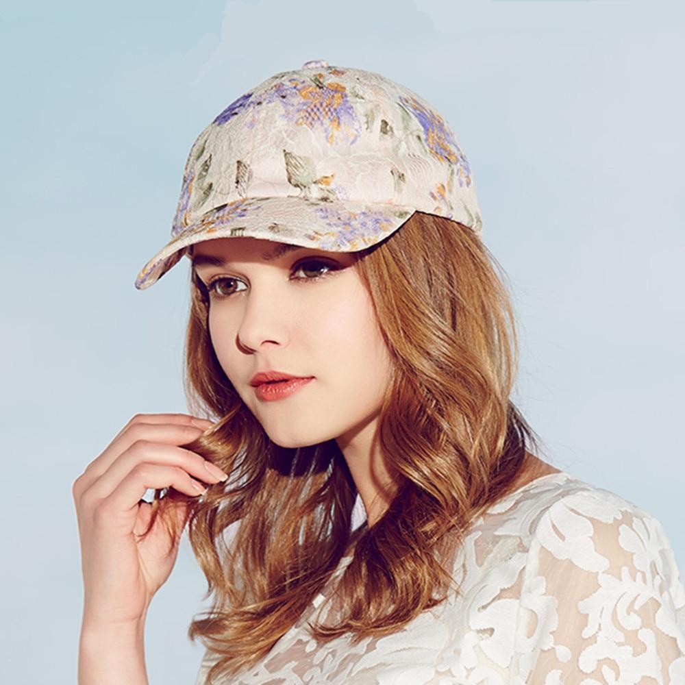 New Kenmont Spring Summer Autumn Baseball Cap Hats Cotton Polyester Snapback Print Breathable Women Mesh Caps Hat 3209<br>