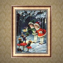 Christmas Kids Diamond Embroidery 5D Diamond DIY Painting Cross Stitch Arts Crafts Sewing MAR14_45