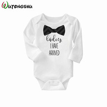 Buy Newborn Girl Boy Baby Clothes Top Cute 100%Cotton Long Sleeve Baby Rompers Roupas De Bebe Infantil Costumes Wholesale for $4.43 in AliExpress store