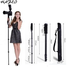 "HAFEI Professional Tripods Portable Camera Monopod WT 1003 For Nikon D3200 D3100 D5000 D7000 DSLR SLR Lightweight Max:67""(171cm)(China)"
