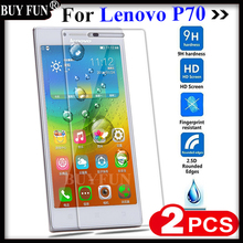 Tempered Glass For Lenovo P70 P 70 P70T P70A P70-T P70-A Screen Protector Case for lenovo p70 case Phone Protective Film Guard(China)