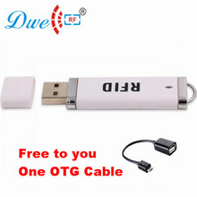 Buy DWE CC RF 125khz rfid Reader USB Plug Play Mini Portable Pen rfid Reader TK4100 Android P01-ID for $6.20 in AliExpress store
