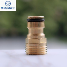 10pcs/pack 1/2inch Male Thread Brass Sprinkler Adapter Tap Connector Hose End Fittings Garden Watering Accessories X104