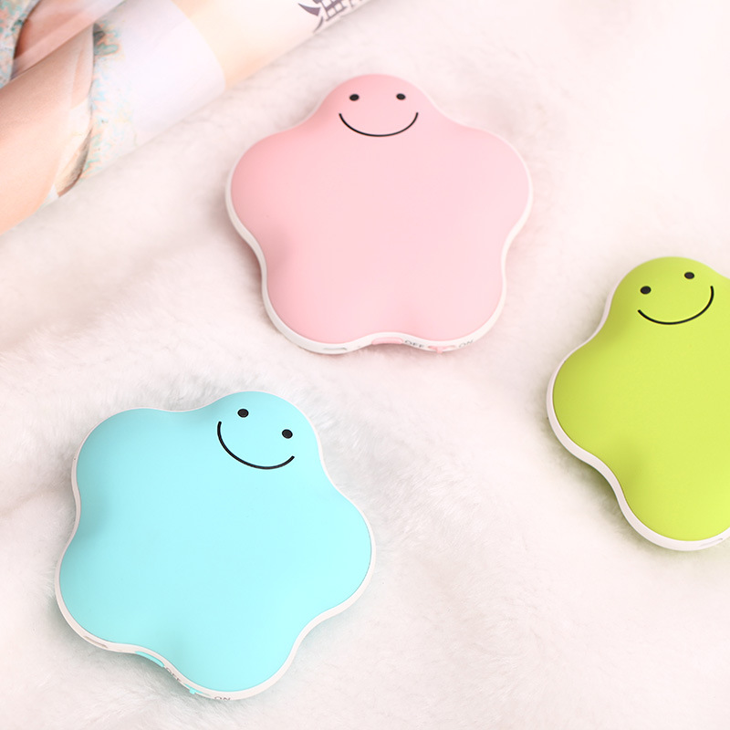 Lucky star warm hand Po explosion-proof electric USB mini charging electric heating  3600 mA charging hand warmer<br><br>Aliexpress