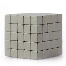10pcs Super Strong Square Cube Neodymium Magnets Block Grade N52 10x10x10mm(China)