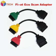 2016 Fi--at Ecu Scan Adaptor Connect Cable OBD 2 16pin Cable OBD Cable For Fiat Alfa Romeo Three Color (3 Pieces/ Set)