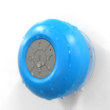 MoreBlue Wireless Bluetooth Speakers Waterproof IPX4 Shower Bathroom Sucker Loudspeaker Stereo Super Bass Music Player With Mic