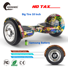 Koowheel Electric Hoverboard 10 inch Samsung Battery 2 Wheels Self Balancing Scooter Electric Skatebord