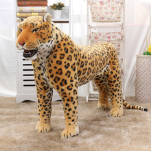 simulation animal huge leopard plush toy 110x70cm high quality ,can be rided,birthday gift,Christmas gift(China)