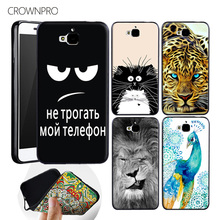 CROWNPRO Soft Patterns For Huawei Honor 4C Pro Case Covers Premium Soft Silicon Case For Huawei Honor 4C Pro TPU