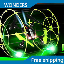 Sky Walker 4 CH RC Quadcopter Flying Walker Climbing Helicopter Running on the floor Climbing on the wall Matrix(China)