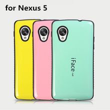 Dropproof phone case For LG Nexus 5 case Shockproof Cover For LG Nexus 5 E980 D820 D821 case Anti-Knock Shell candy color